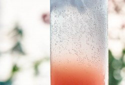The Piquant: a Rhubarb Gin Cocktail with black pepper and grapefruit