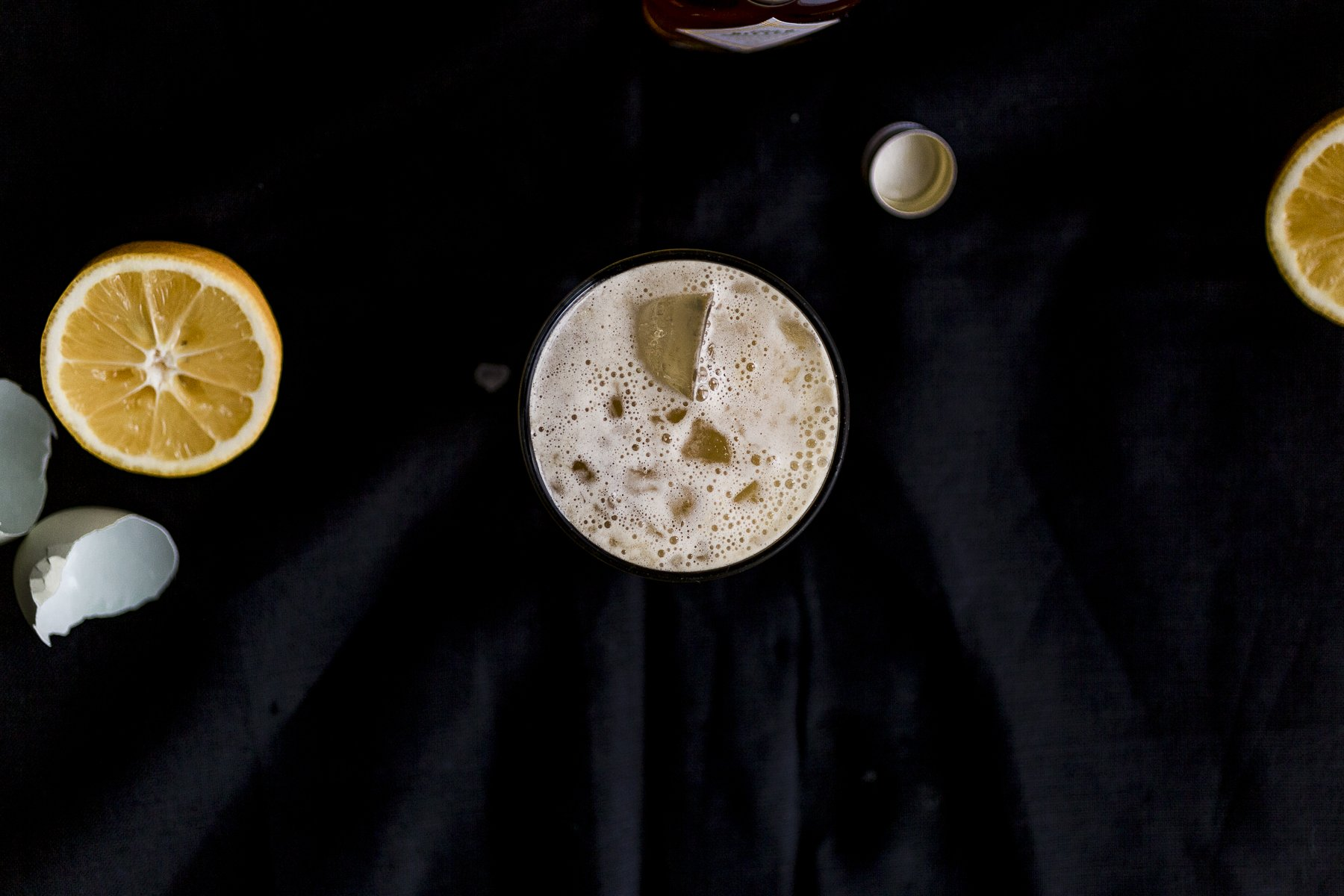 not your mommas meyer lemon amaretto sour