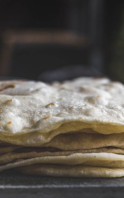 Homemade Bacon Fat Flour Tortillas