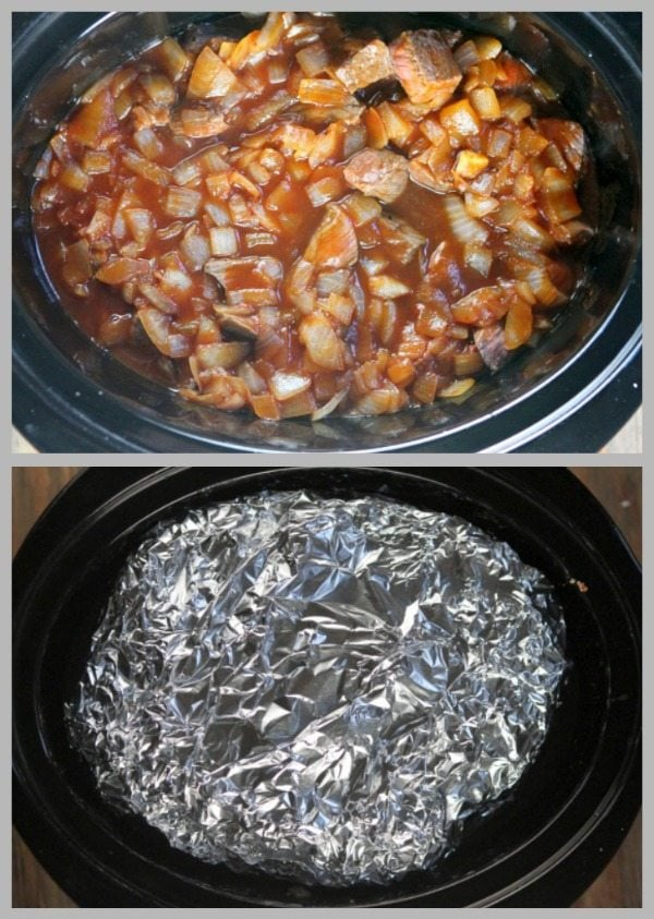 Slow Cooker Beef Stew Prep