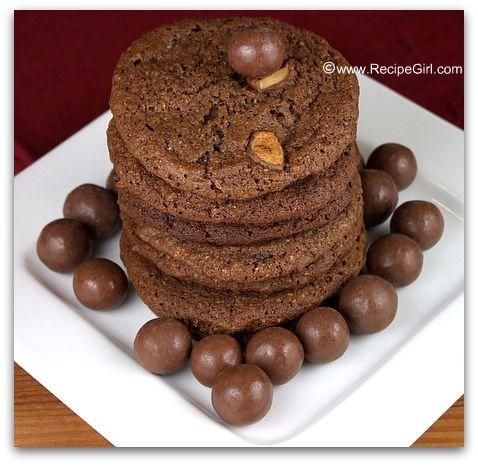Malted Milk Ball Cookies  RecipeGirl