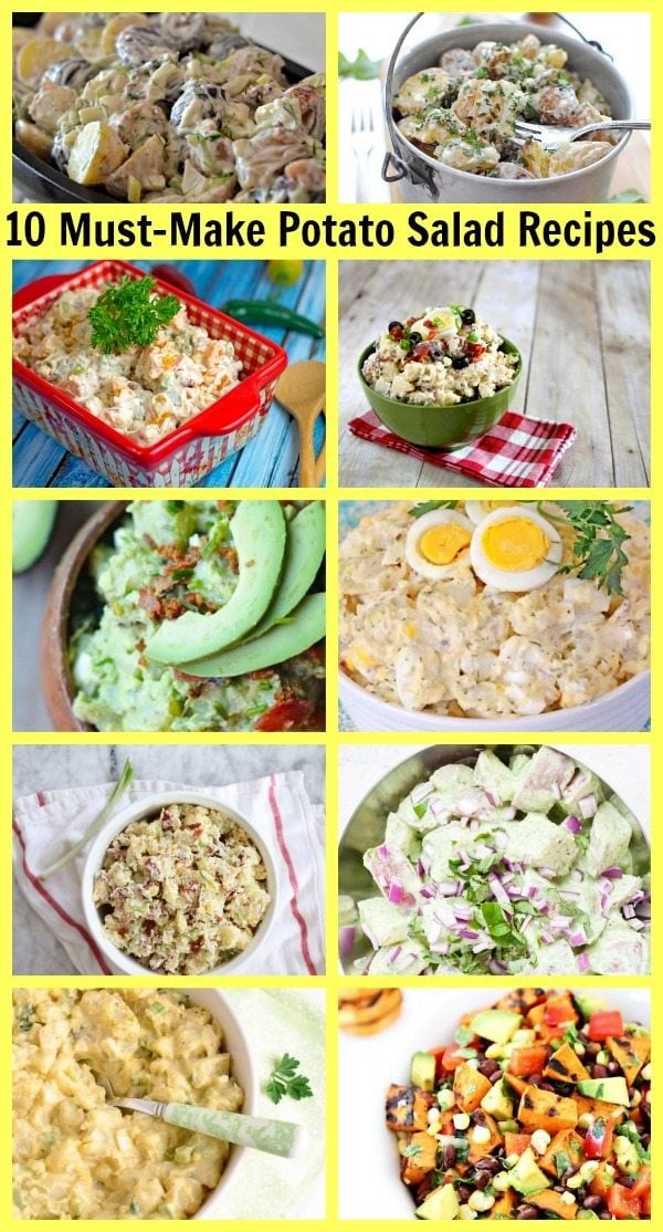 10 Must Make Potato Salad Recipes