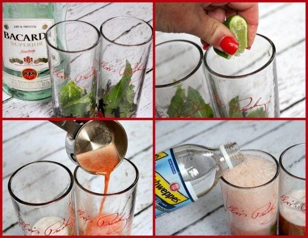 Cherry Mojitos Prep