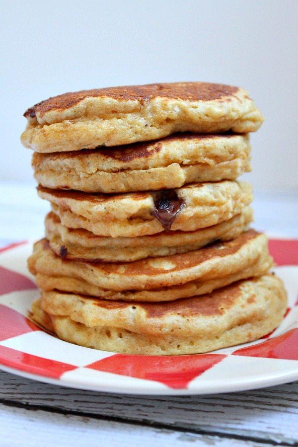 Fluffy Peanut Butter Pancakes Recipe