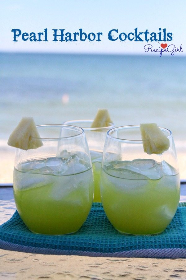 Pearl Harbor Cocktail #recipe - RecipeGirl.com