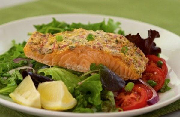 Herb and Lemon Salmon Salad