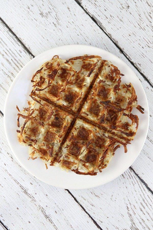 Waffled Hash Browns #recipe