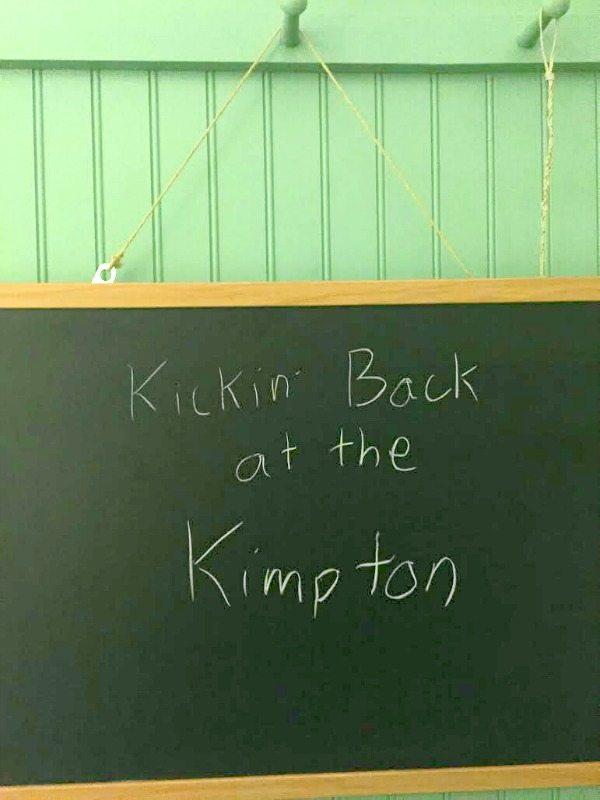Hotel Triton Chalkboard
