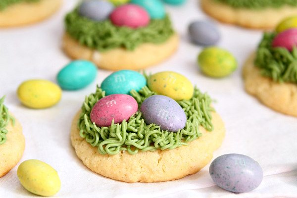 Easter Grass Sugar Cookies