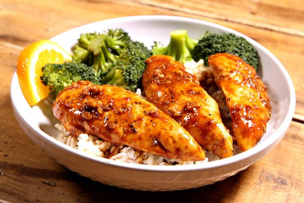 Hoisin Orange Chicken Tenders