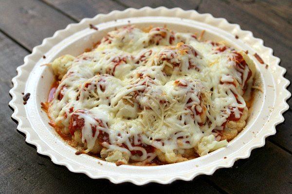Cauliflower Pizza Casserole