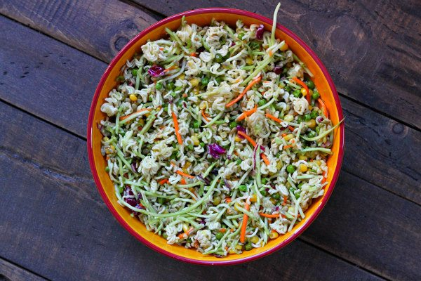 Easy Ramen Salad
