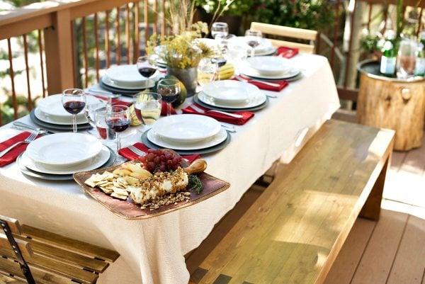 Harvest Dinner Party Menu