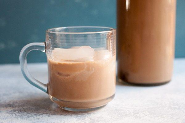 Homemade Irish Cream Liqueur recipe - from RecipeGirl.com
