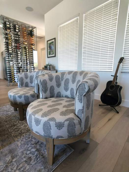 New furnishings in Scottsdale Home Remodel