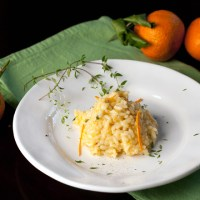 Mandarin Orange Risotto