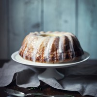 Lemon and Rosemary Cake, Lemon Drizzle Icing
