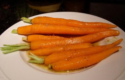 carrots-marinating