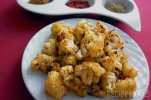 Baked Spicy Cauliflower