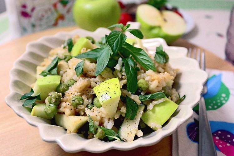 Apple Rice Salad