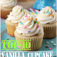 Top-10 Vanilla Cupcake Recipes