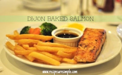 best baked salmon recipe with dressing