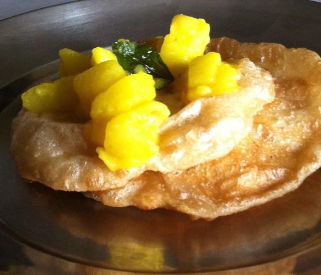 Poori Recipe - With Potato Curry
