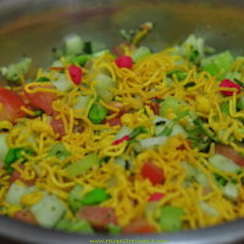 bombay mix salad - mixture salad