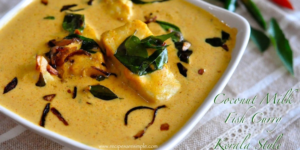 Coconut Milk Fish Curry Kerala Style