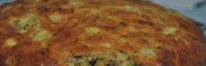 Banana Walnut Muffin Cake