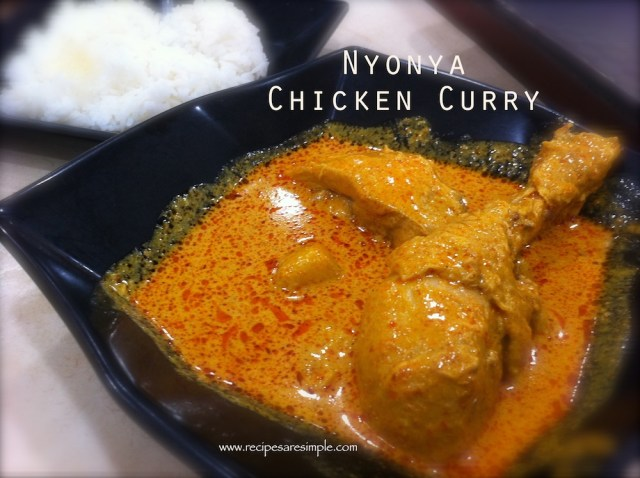 malaysian chicken curry nyonya recipe