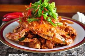 Singapore Chilli Crab - Sauce