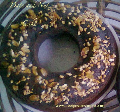 Date and Nut Cake