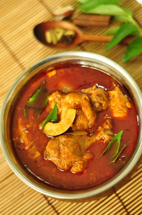 Nadan Chicken Curry Kerala Chicken Curry - authentic