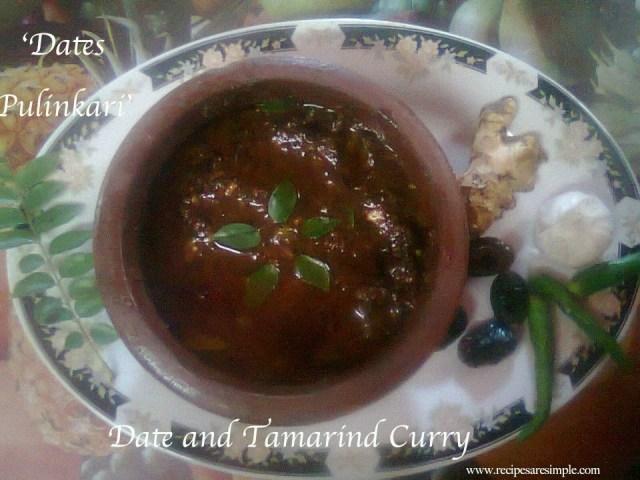 Tamarind Date Cake Recipe