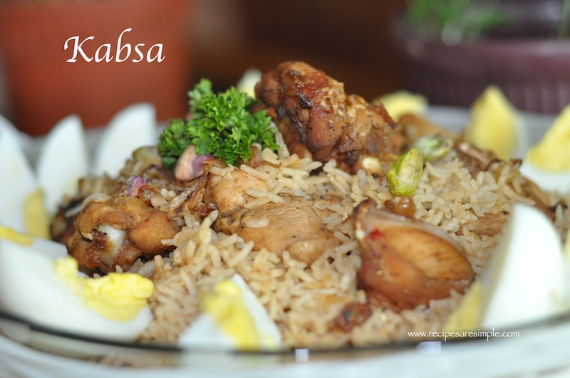 Kabsa - Recipe for Arabian Chicken and Fragrant ...