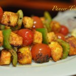 Paneer(Cottage Cheese) Skewers