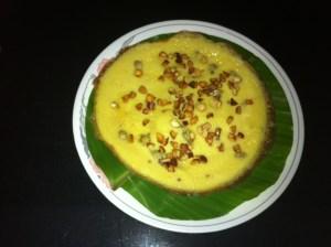 Chick Pea Flour Pancake- Kadala Pola