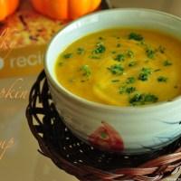 Silky Pumpkin Soup Recipe1