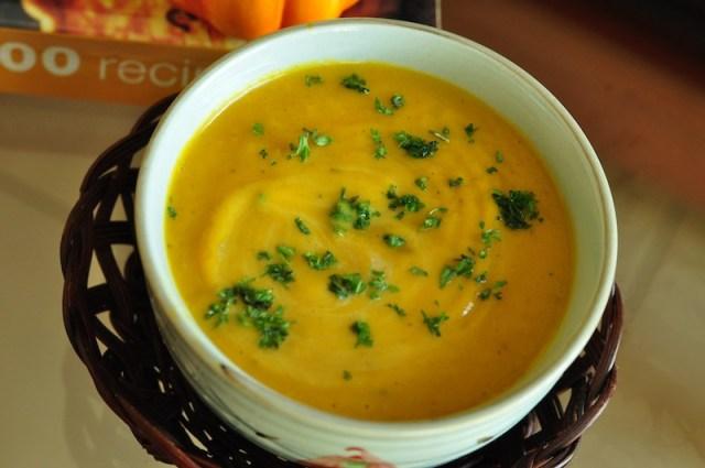 Silky Pumpkin Soup Recipe 2