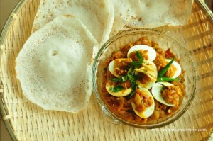 Appam with Ground Rice (Traditional Method) - Recipes 'R' Simple