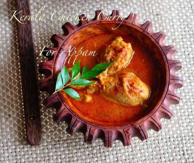 Kerala chicken curry for appam