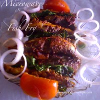 microwave fried fish