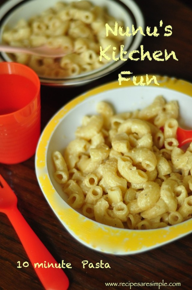 simple pasta for kids