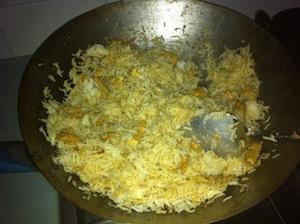 Tom Yum Fried Rice Make 3