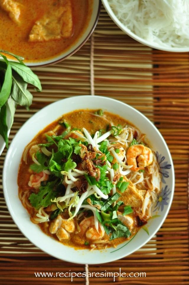 Malaysian Laksa Recipe