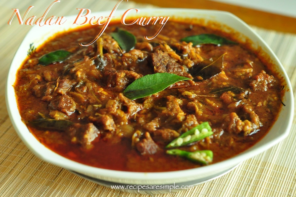 Nadan Beef Curry | Traditional Beef Curry from Kerala | Recipes 'R ...