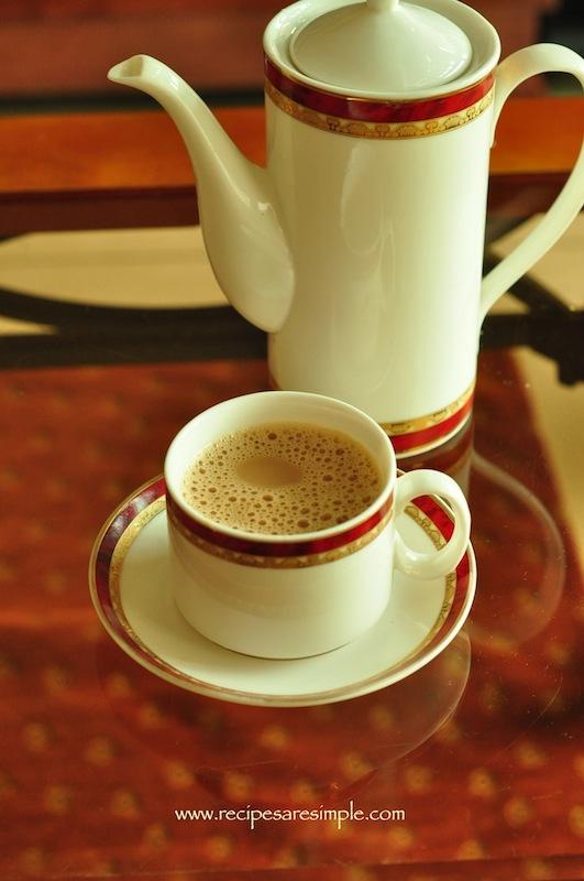 indian tea with milk video