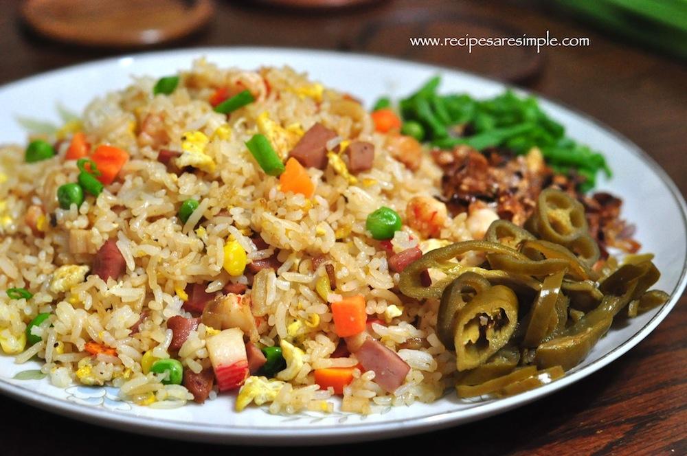 Yang Chow Fried Rice Yang Zhou Chao Fan With Shrimp