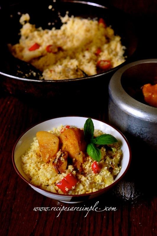 Savory Couscous recipe